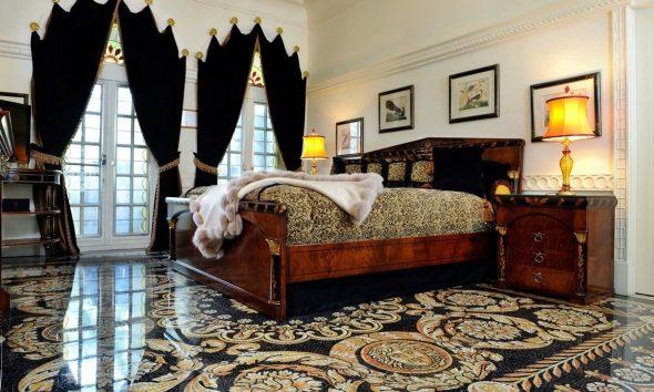 Напольные покрытия в спальне