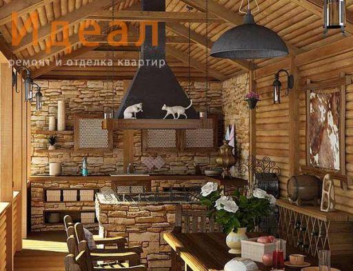 """Дизайн дома в стиле """"кантри"""""""